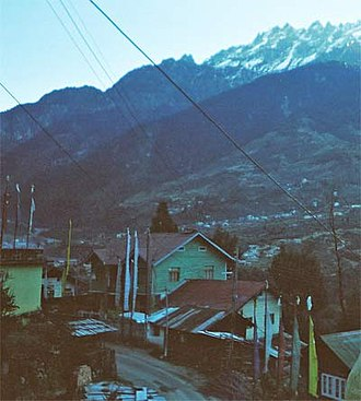 Lachung - Image: Lachung 1