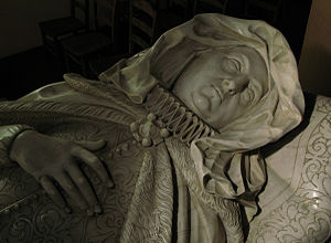 Elizabeth Danvers - Monument to Elizabeth Neville in St Michael's Church, Stowe, Northamptonshire