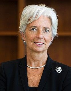 Christine Lagarde French lawyer & Managing Director of the International Monetary Fund
