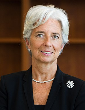 Christine Lagarde - Image: Lagarde, Christine (official portrait 2011)