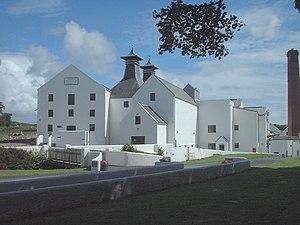 Lagavulin distillery - Image: Lagavulin entrance