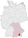 Lage des Landkreises Rosenheim in Deutschland.png
