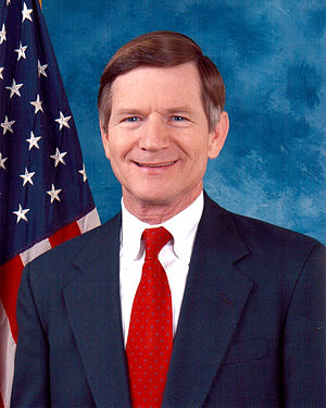 Lamar Smith - Earlier portrait of Congressman Lamar Smith