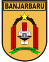 Official seal of Banjarbaru