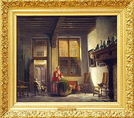 Old Dutch interior