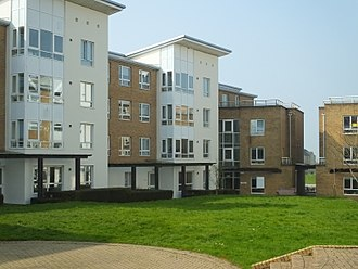 Pendle College, Lancaster - Pendle standard accommodation (colloquially 'Pendle Ghetto')