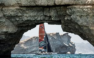 Land Rover and Extreme Sailing Series™ enjoy thrill of Stadium Racing in Muscat (13346080234)