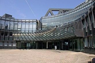 Landtag of North Rhine-Westphalia - Entrance area