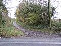 Lane off A4361, Winterbourne Monkton - geograph.org.uk - 286642.jpg