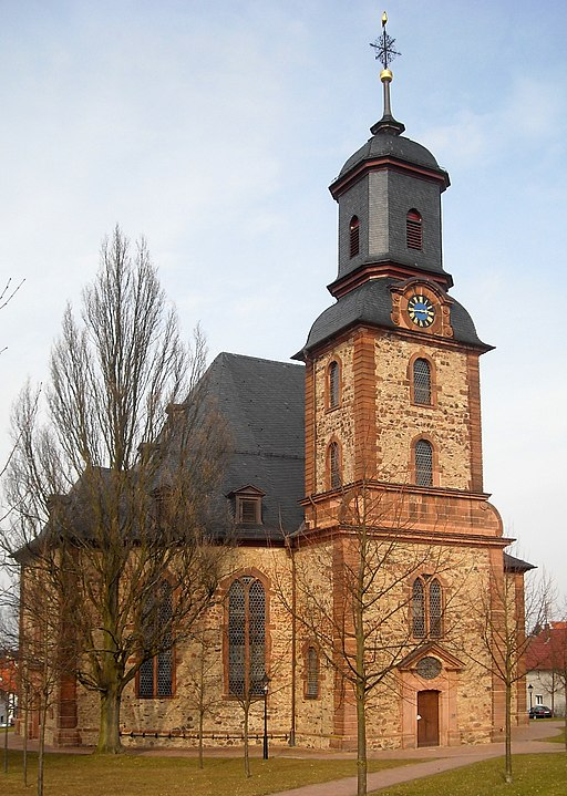 Langenselbold Evangelische Kirche 20100317
