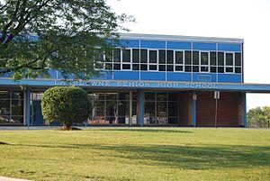 Lansdowne High School - Image: Lansdowne High School Front