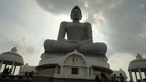 Andhra Pradesh Capital Region - Buddha Statue at Amaravati, an iconic structure in Andhra Pradesh Capital Region
