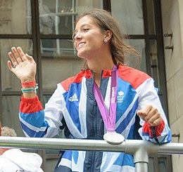 Laura Robson Olympic Parade (cropped).jpg