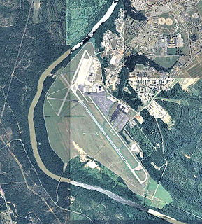 Lawson Army Airfield airport in Fort Benning, United States of America