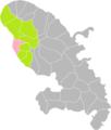 Le Carbet (Martinique) dans son Arrondissement.png