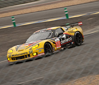 Larbre Compétition - Larbre's GTE-Am class-winning Corvette C6.R at the 2011 24 Hours of Le Mans.