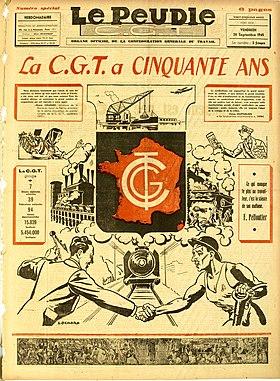 Image illustrative de l'article Le Peuple (CGT)