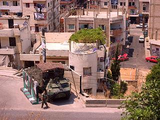 Syrian Civil War spillover in Lebanon