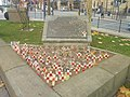 Leeds Rifles and Leeds Pals memorial, Victoria Gardens, Leeds (14th November 2018).jpg