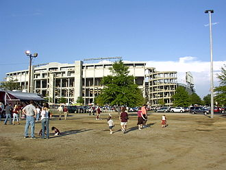 Legion Field - Image: Legion Field outside