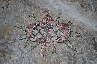Tutuala - Rock painting in Lene Hara cave