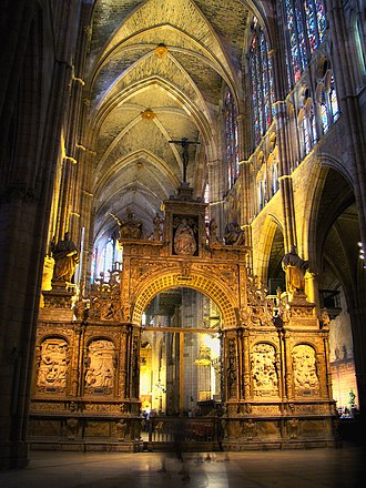 León Cathedral - Interior view