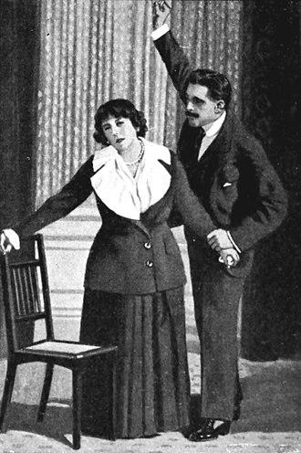 Edoardo Garbin - Edoardo Garbin and Rosina Storchio in Zazà