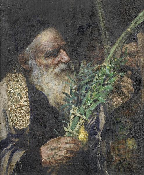 File:Leopold Pilichowski - Examining the Lulav (II).jpg