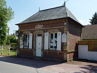 Les Places Commune in Normandy, France