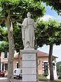 Lesperon (Landes) Statue Saint Pierre.JPG