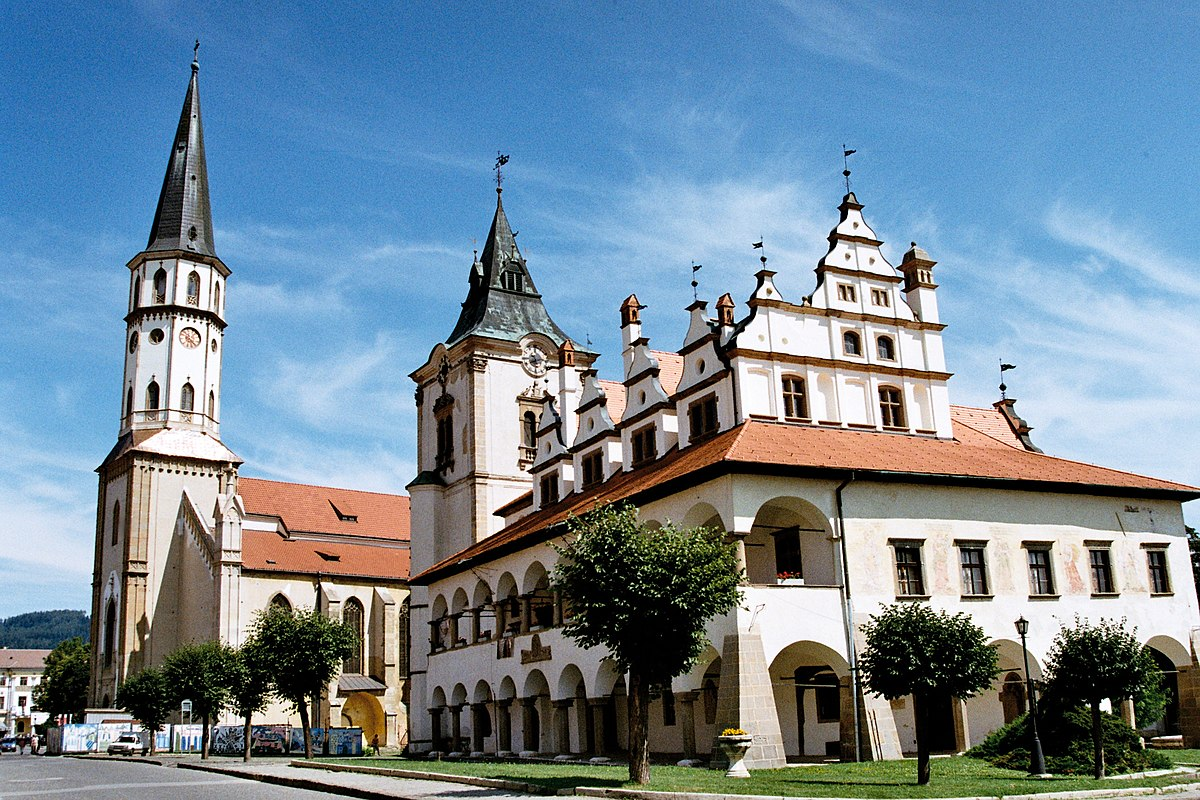 Levoča – Travel guide at Wikivoyage