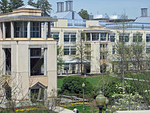 Photo of Levine Science Research Center on the campus of Duke University