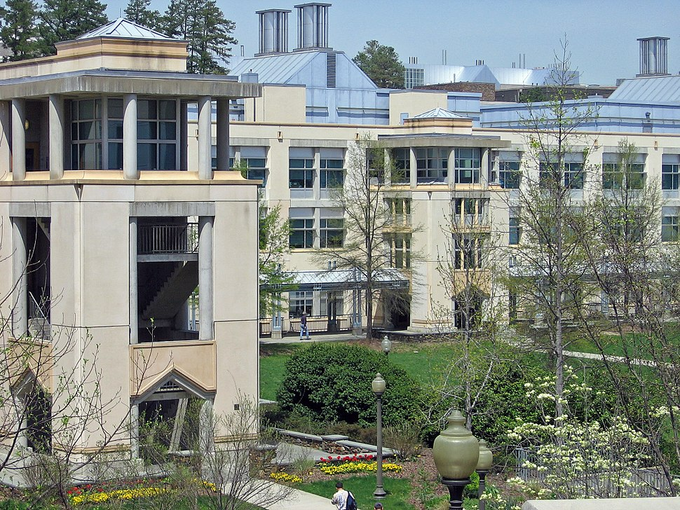 Photo of Levine Science Research Center on campus of Duke University