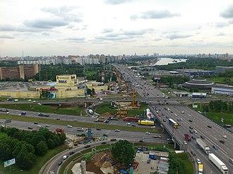 Levoberezhny District, Moscow - View of Levoberezhny District
