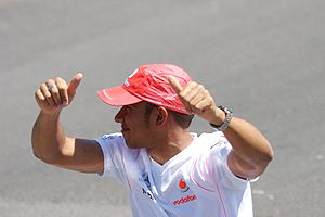 2007 Canadian Grand Prix - Lewis Hamilton took the first pole position of his career at this Grand Prix