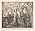Librije bij de Walburgkerk te Zutphen (originele titel op object), RP-P-1931-1174.jpg