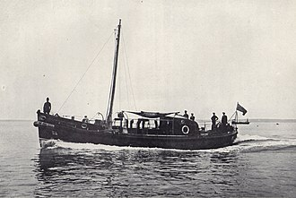 Barnett-class lifeboat - Image: Lifeboat William and Kate Johnston 1923