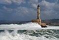 Lighthouse in Chania. Crete, Greece.jpg