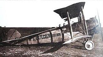 Salmson 2 - A Salmson 2 Berline of Lignes Aeriennes Latécoére, circa 1918