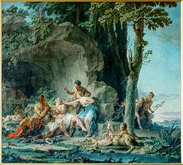 Eglé et Silène
