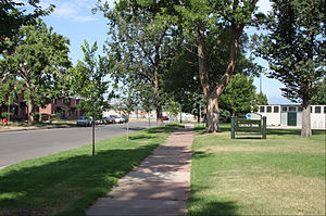 Lincoln Park, Denver - Lincoln Park: The park from where the neighborhood is named