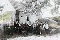 Lind bei Altenahr (Eifel); historisches Foto vom Dorfplatz a.jpg
