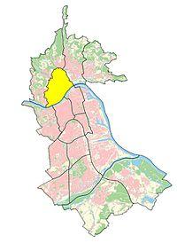 Statistische Bezirke des Linzer Stadtteils Urfahr