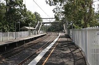 Lisarow railway station railway station in New South Wales, Australia