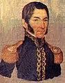 Litografía de el general y Caudillo liberal Francisco Morazan.jpg