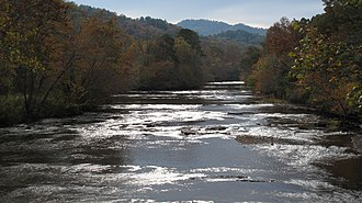 Little Tennessee River - Little Tennessee River in North Carolina