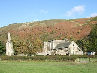 Owen Glendower (novel) - Valle Crucis Abbey where Powys began writing Owen on 24 April 1937.