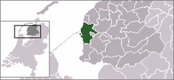 Location of Wonseradeel
