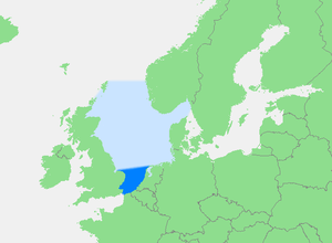 Southern Bight - Location of the Southern Bight