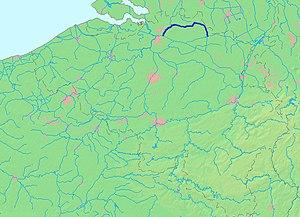 Dessel–Turnhout–Schoten Canal - The Dessel-Turnhout-Schoten Canal connects Dessel to the Albert Canal which it joins at Schoten.